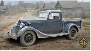 Soviet WW2 Pickup GAZ-M-415