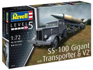 SS-100 Gigant + Transporter + V-2