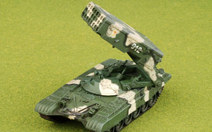 TOS-1A WITH T-72 BODY