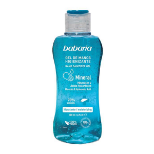 Babaria Mineral Gel De Manos Higienizante 70 Alcohol 500ml