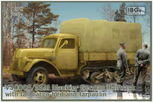 V3000S/SSM Maultier German Half Track