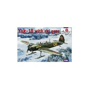 YAK-18 WITH SKI GEAR