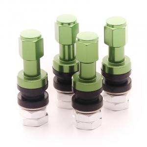 Set of Aluminum air valves JR v2 - GREEN