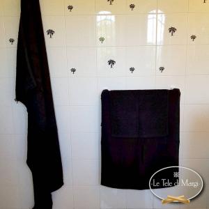 Asciugamani tinta Unita Nero
