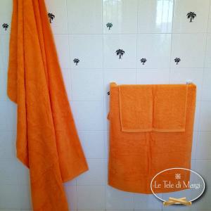 Asciugamani tinta Unita Arancione