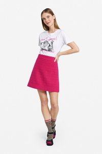 T-shirt stampa Pippi calzelunghe