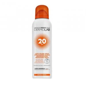 Dermolab Latte Solare Spray Spf20 150ml