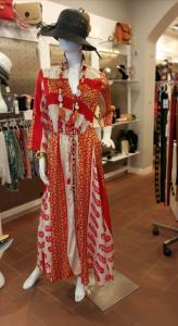 Abito lungo indiano Veste 42 / 48 | abbigliamento stile etnico