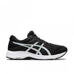 Asics Gel Contend 6 Black White da Uomo