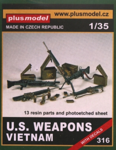 Vietnam US. Weapons PLUSMODEL 316