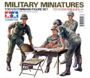 U.S. Command figure set Tamiya MM179