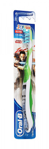 ORAL-B JUNIOR SPAZZOLINO MANUALE STAR WARS 6-12 ANNI COLORI ASSORTITI