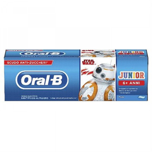 ORAL-B JUNIOR DENTIFRICIO STAR WARS PER BAMBINI +6 ANNI-  75ML GUSTO MENTA