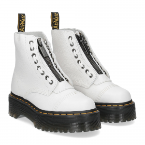 Dr. Martens Anfibi donna sinclair white aunt sally