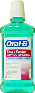 ORAL-B DENTI E GENGIVE COLLUTORIO SENZA ALCOOL - 500ML