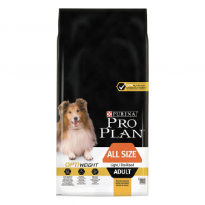 PURINA PRO PLAN ADULT ALL SIZE OPTIWEIGHT - LIGHT/STERILISED