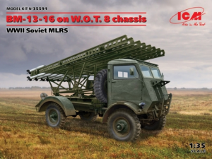 BM-13-16 on W.O.T. 8 chassis