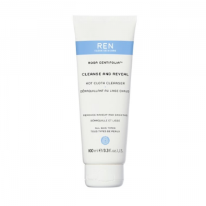 Ren Rosa Centifolia Cleanse And Reveal Hot Cloth Cleanser 100ml