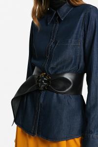 Cintura con fibbia tartaruga