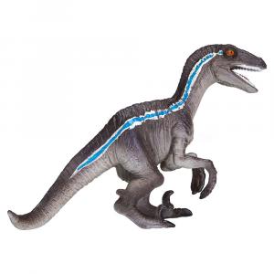Statuina Animal Planet Velociraptor accovacciato