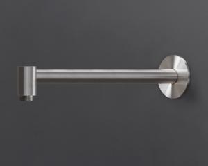 BRA07S Braccio per soffione a parete L. max. 330 inox CEA DESIGN
