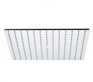 Soffione quadrato Caliendo in acciaio inox lucido 30*30