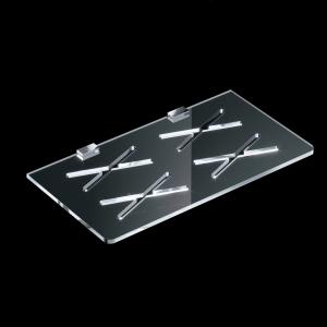 Mensola doccia in plexiglass S050