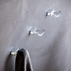 Appendiabito singolo in plexiglass S004