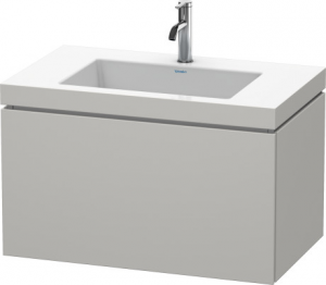 Mobile L-Cube Lavabo consolle c-bonded Cod. Art. LC6917 N/O/T