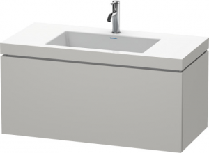 Mobile L-Cube Lavabo consolle c-bonded Cod. Art. LC6918 N/O/T