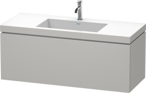 Mobile L-Cube Lavabo consolle c-bonded Cod. Art. LC6919 N/O/T