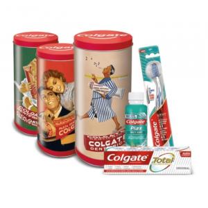 Colgate Vintage Tin Set 4 Parti 2020
