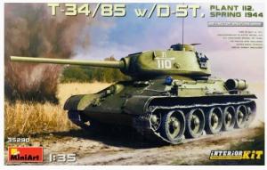 T-34/85 w/D-5T.
