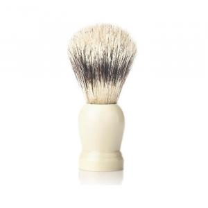 Vielong J&M Natural Bristle Shaving Brush 21mm White