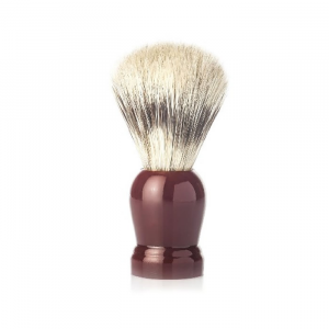 Vielong J&M Natural Bristle Shaving Brush 21mm Brown
