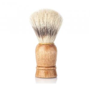 Vielong J&M Natural Bristle Shaving Brush 21mm Beech