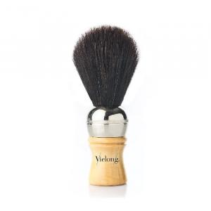 Vielong Professional Horse Hair Barber Brush 19mm Black