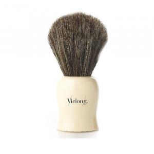 Vielong Rolhó Shaving Brush Horse Hair 24mm Brown
