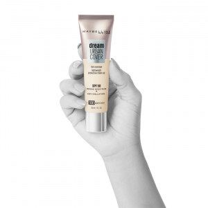 Maybelline Dream Urban Cover Protective Makeup Spf50 100 Warm Ivory 30ml