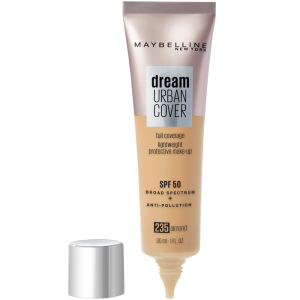 Maybelline Dream Urban Cover Protective Makeup Spf50 235 Almond 30ml