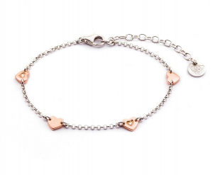 Jack & Co Bracciale Magic, Cuori