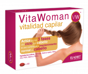 Eladiet Vitawoman Vitalidad Capilar 60 Comp