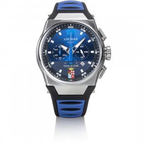 Orologio Locman Mare Collezione Marina Militare Crono Blu