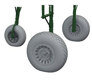 A-26 Invader Wheels