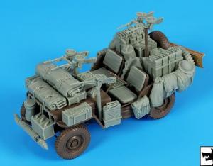 British SAS Jeep Africa Accessories Set