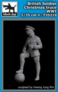 British Soldier Christmas Truce WWI