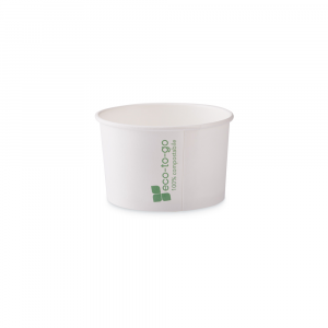 Coppette gelato Eco to go biodegradabili - 90cc