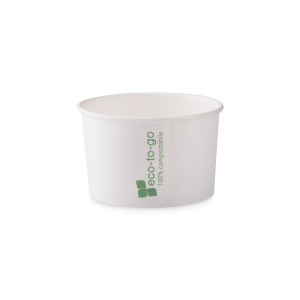 Coppette gelato Eco to go biodegradabili - 120cc