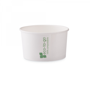 Coppette gelato Eco to go biodegradabili - 170cc