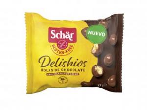 Dr. Schar Delishios Bolas Chocolate Con Leche 37g